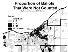 Proportion of Ballots That were not Counted