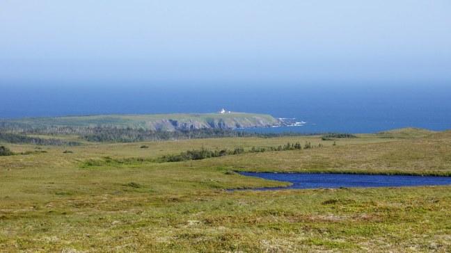 Trepassey Lighthouse from afar