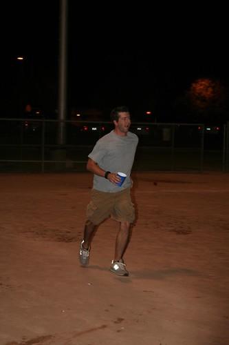 Travis runs