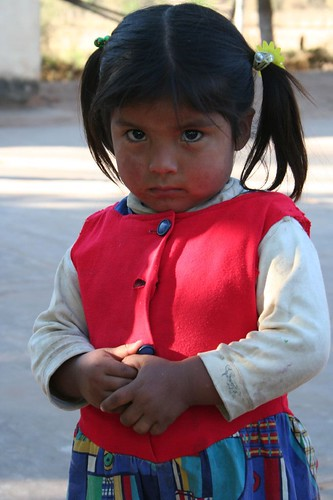 Bolivian Women and Children