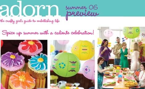 Adorn Magazine - NEW!
