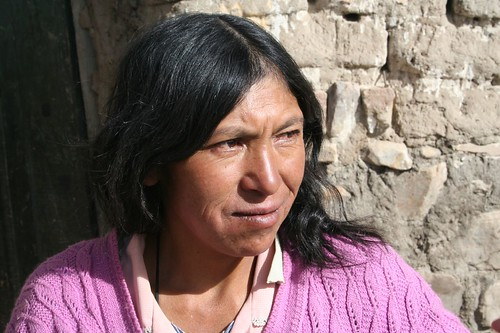 Bolivian Women and Children