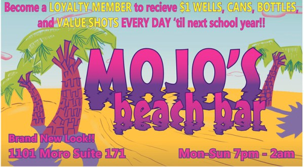 mojos beach bar