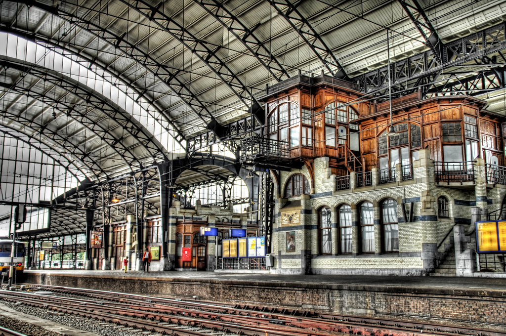 Treinstation Haarlem Haarlem Train Depot | Stuck In Customs