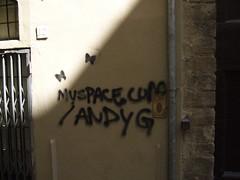 Myspace graffiti