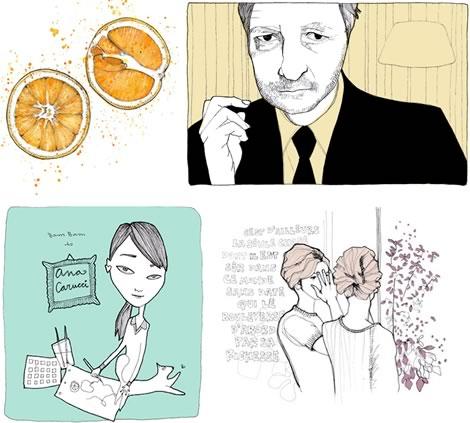 Illustrations of Ana Carucci