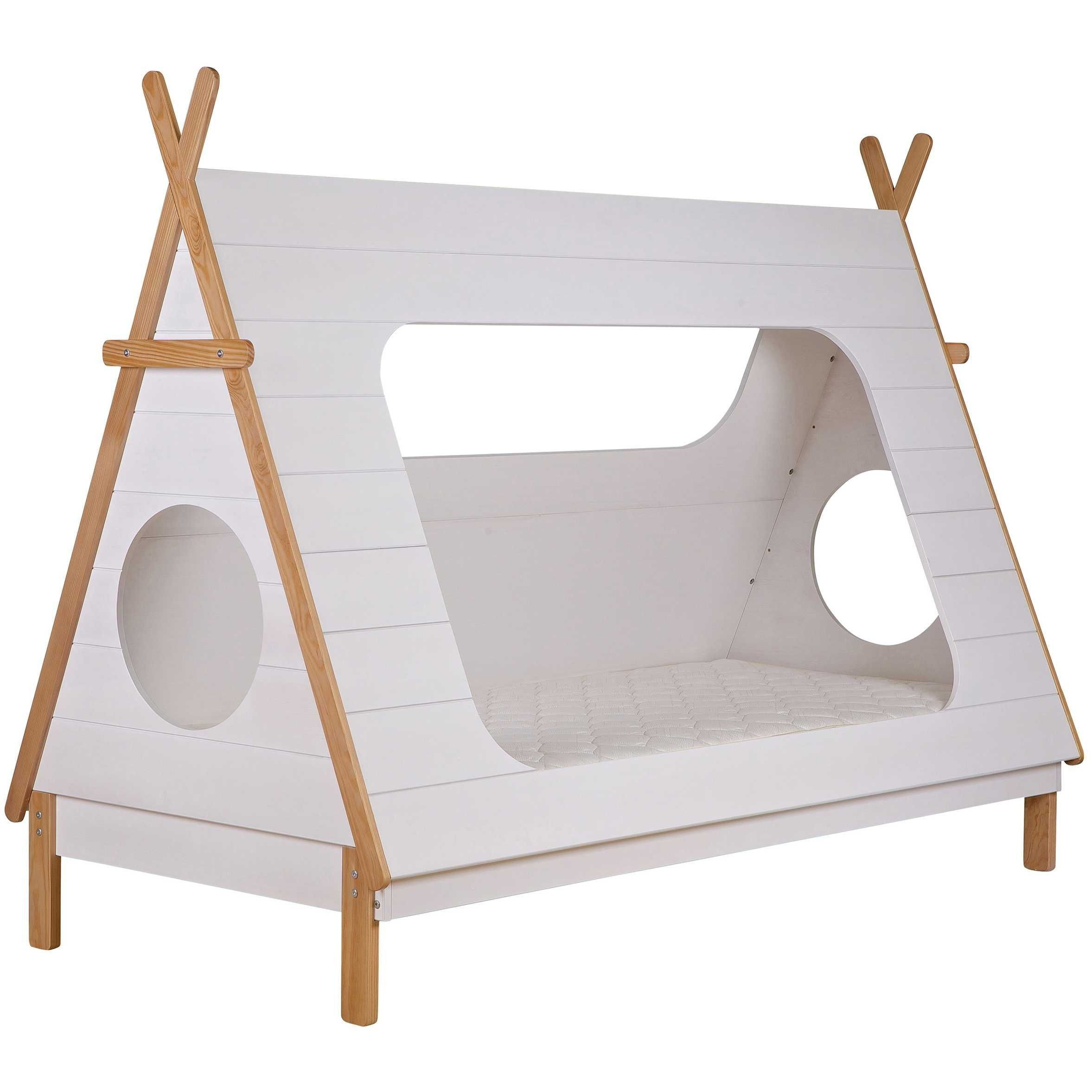 Houten Kinderbed Woood Tipi Kinderbed 90x200