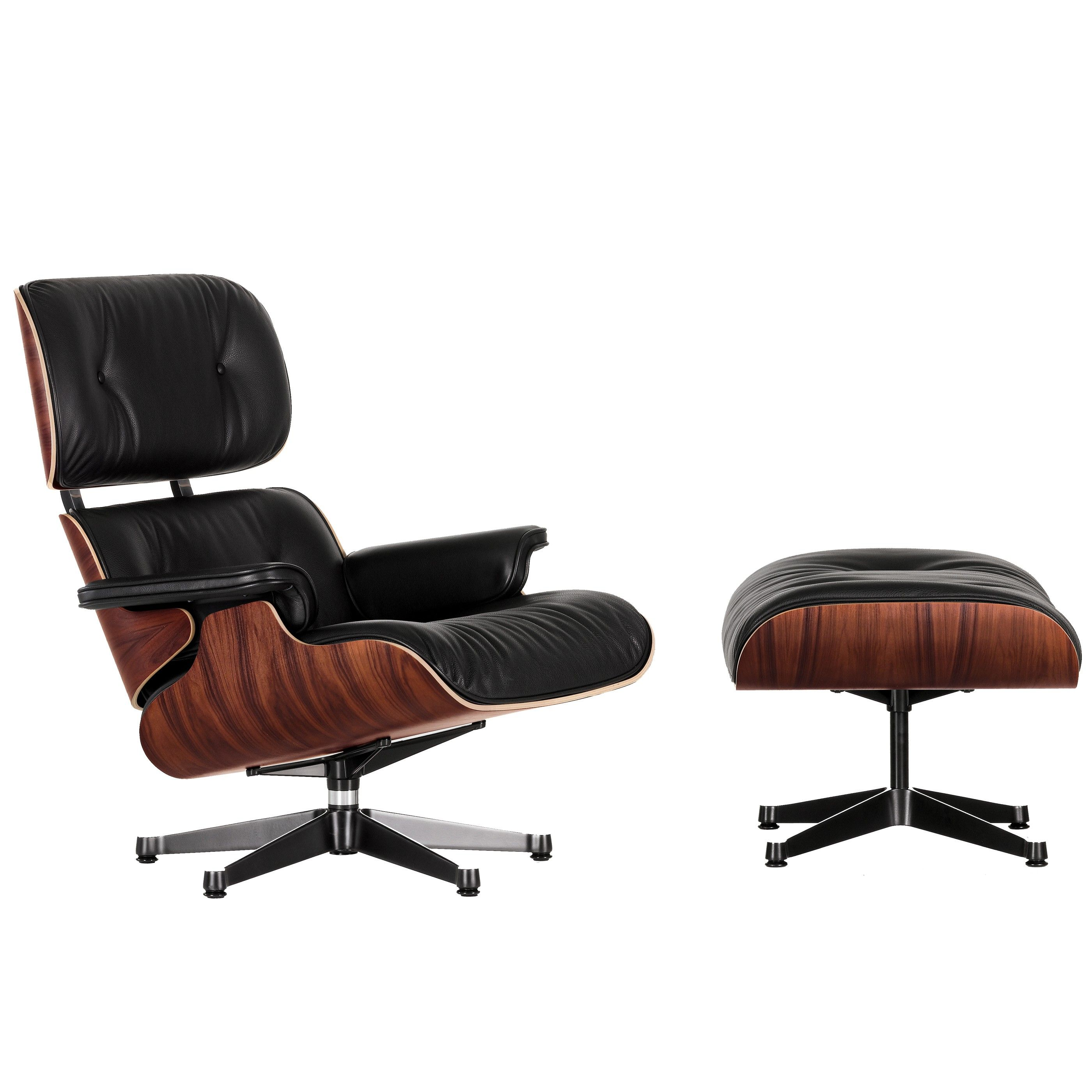 Sessel Aus Holz Vitra Eames Lounge Chair Sessel Mit Ottoman Chocolate Flinders