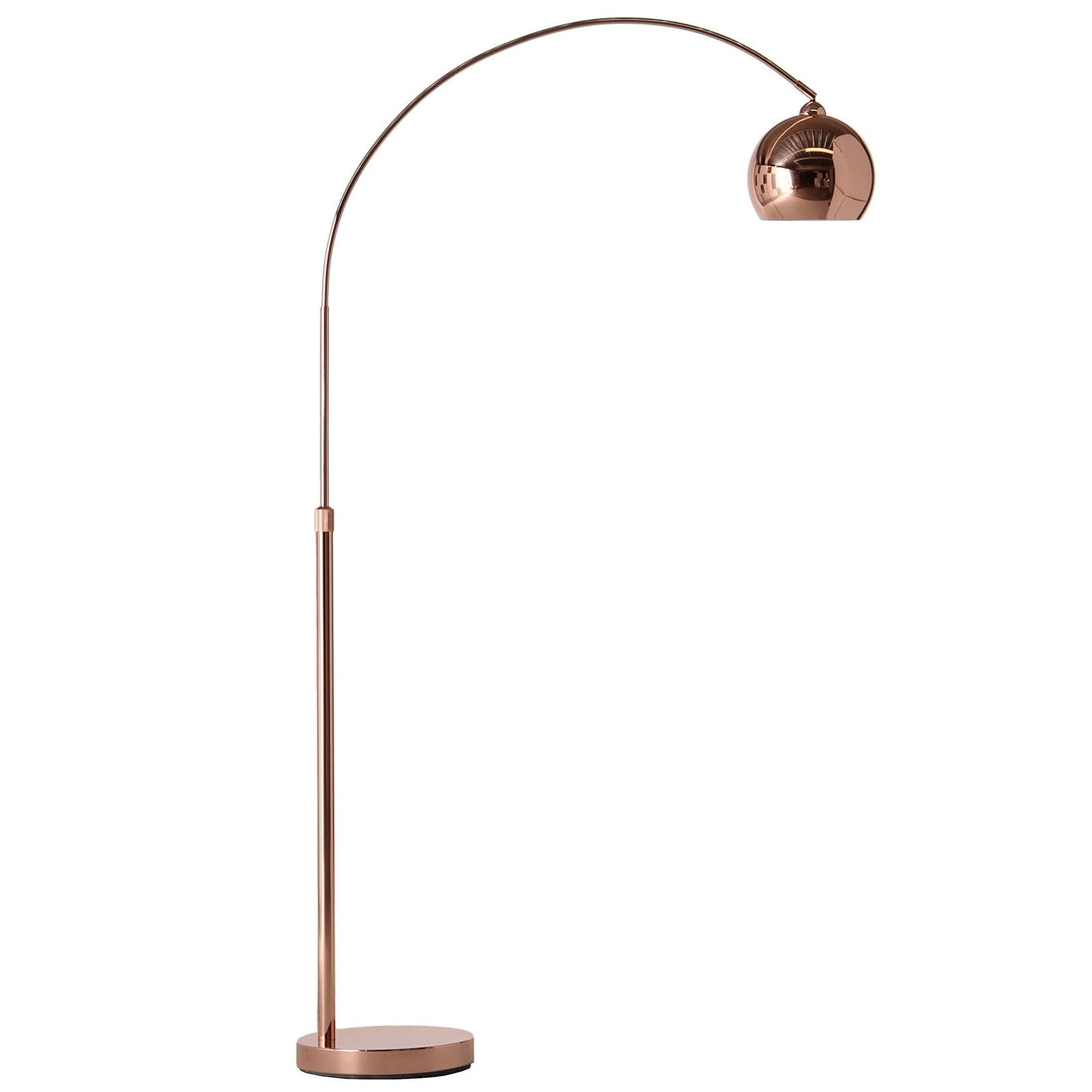 Koperen Staande Lamp Frandsen Lampen Direct Leverbaar Flinders Design