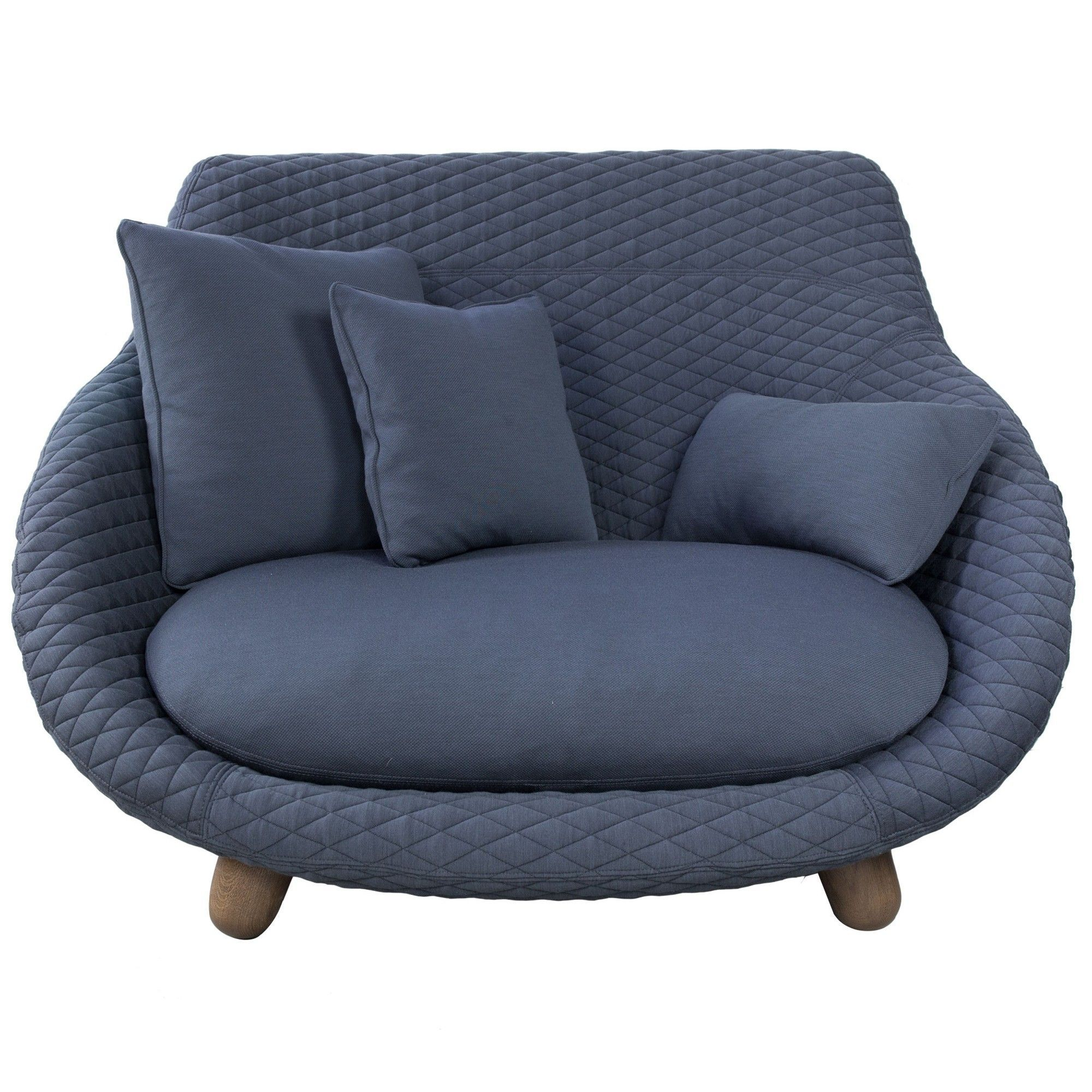 Antraciet Fauteuil Moooi Love Sofa Bank High Graphite | Flinders Verzendt Gratis