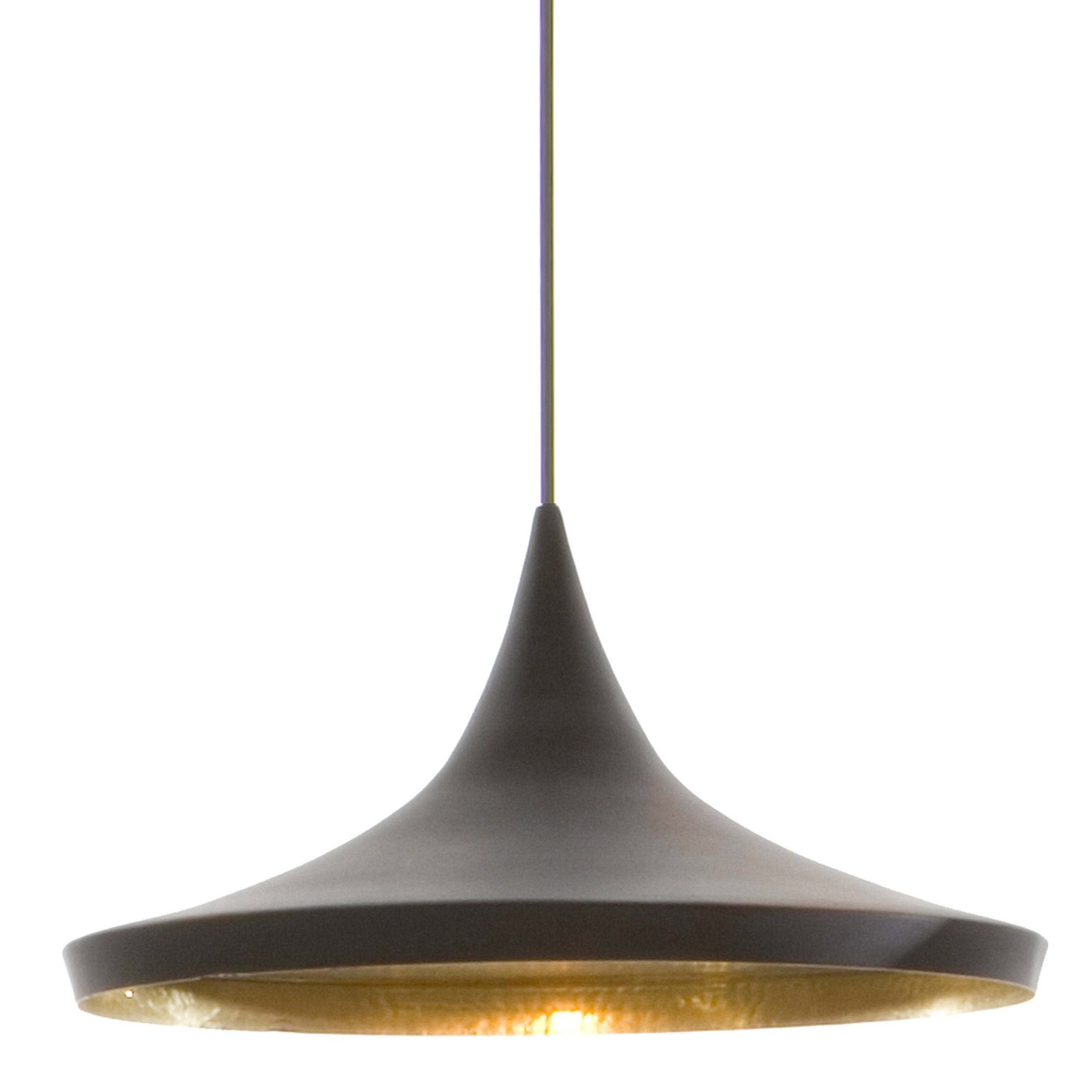 Hanglamp Zwart Tom Dixon Beat Light Wide Hanglamp Zwart