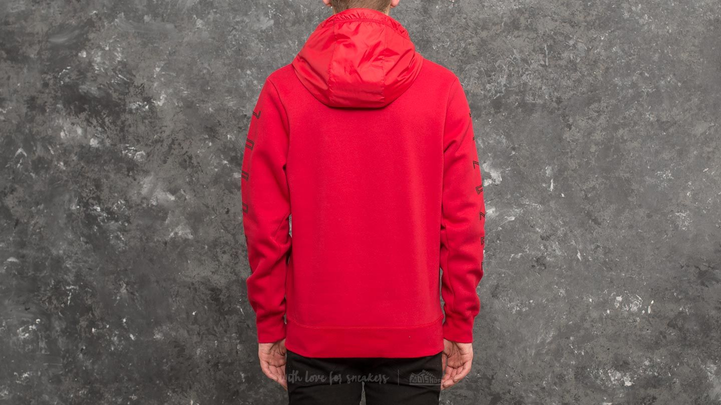 Pullover In Gym Air Jordan 11 Hybrid Pullover Hoodie Gym Red Black