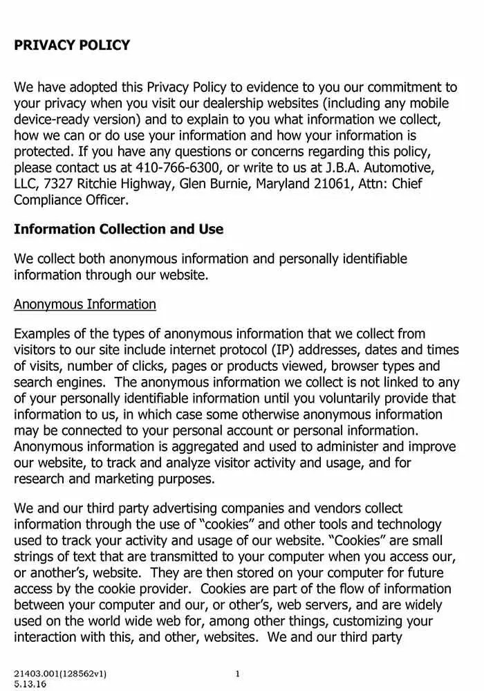 Our Privacy Policy I Protecting Your Information in the Digital Age
