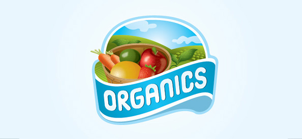 Free Organic Food Logo Design