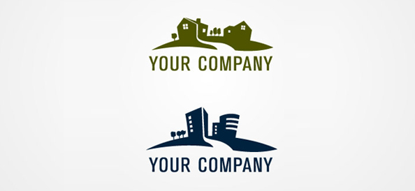 Free Real Estate Logo Template 01