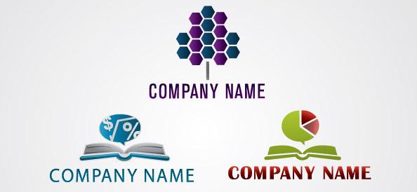 Financial Logo Vector Design Set