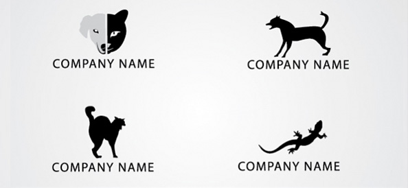 Free Animal Logo Design Template Set 02
