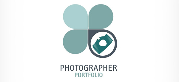 Photographer Logo Vector Design Template