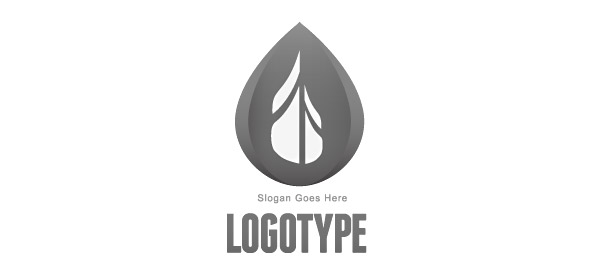 Free Drop Logo Template