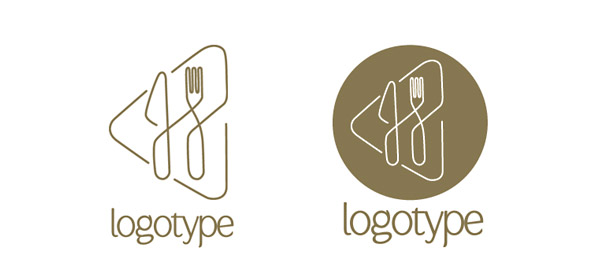 Restaurant Logo Design Template