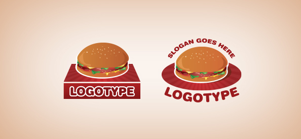Hamburger Logo Template