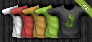 PSD T-Shirt Template