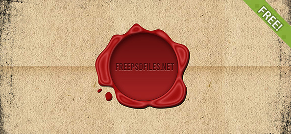 Free Wax Seal PSD