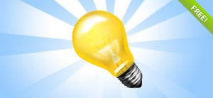 Bulb PSD Icon