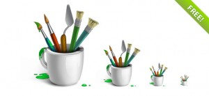 Designer Brushes-Icon Set