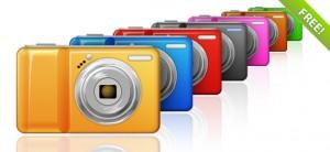 7 Free PSD Camera Graphics