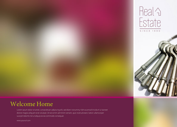Real Estate Postcard Template - Free PSD Files