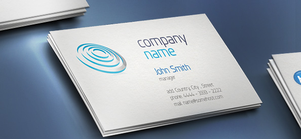 Business card template free psd files business card template flashek Image collections
