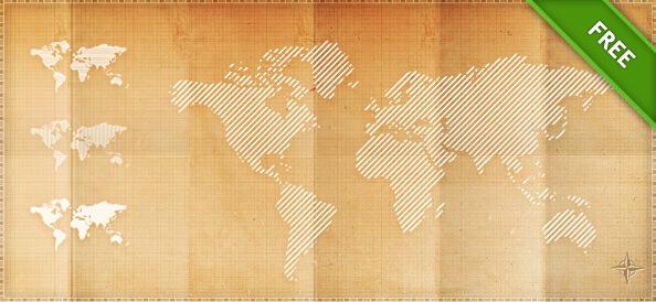 Psd pixel world map free psd files psd pixel world maps gumiabroncs Images