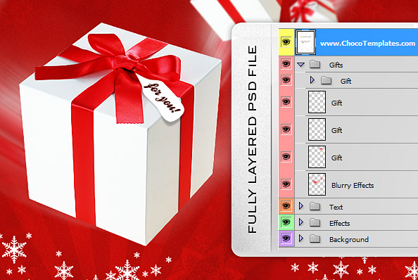 Christmas Flyer PSD Template - Free PSD Files - christmas template free