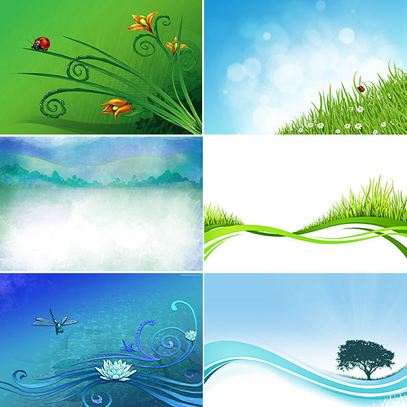 Nature Background Set Big