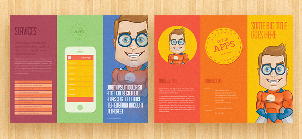 Brochure Template PSD Free PSD Files - Brochure template psd