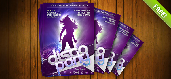 Free templates for flyers