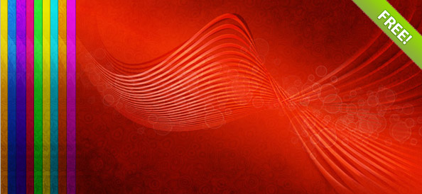 10 Abstract Wave Backgrounds