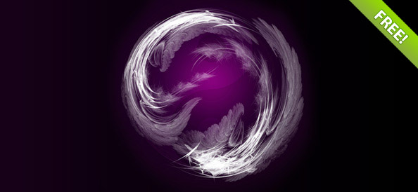 Abstract Whirl Background