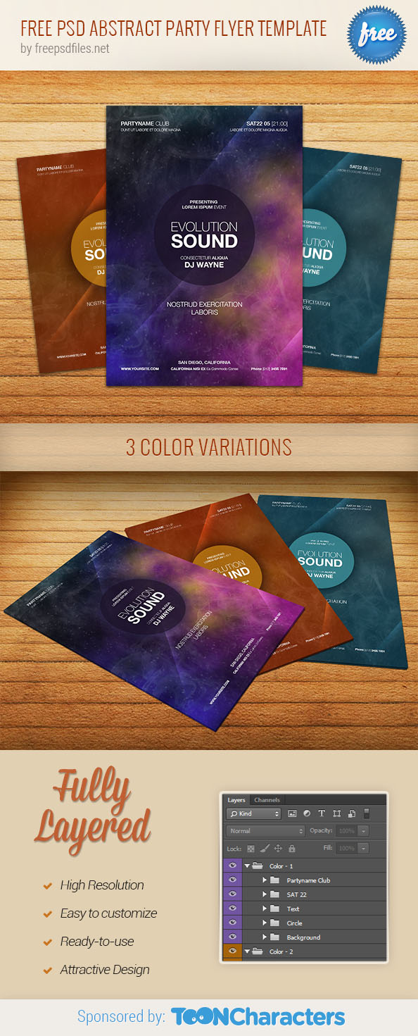 psd abstract party flyer template psd files psd abstract party flyer template
