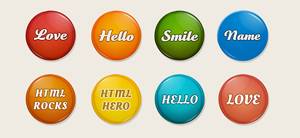 Free PSD Collection Of Badges