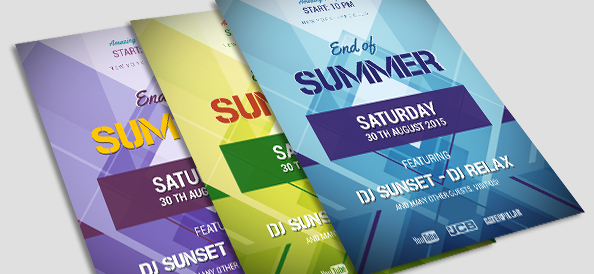 Free Psd Geometric Flyer Template  Free Psd Files