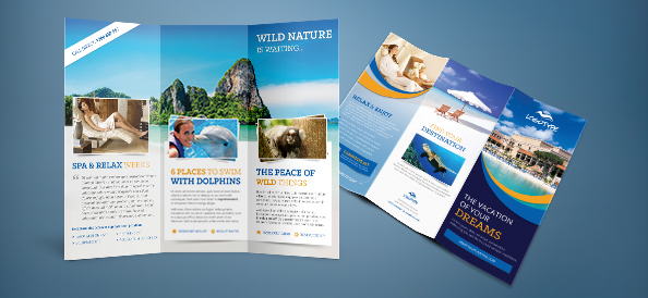 Free PSD Travel Brochure Free PSD Files - Brochure template photoshop free