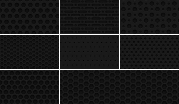 8-seamless-dark-metal-grid--patterns
