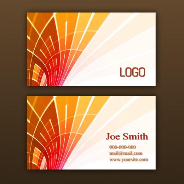 orange-business-card-template