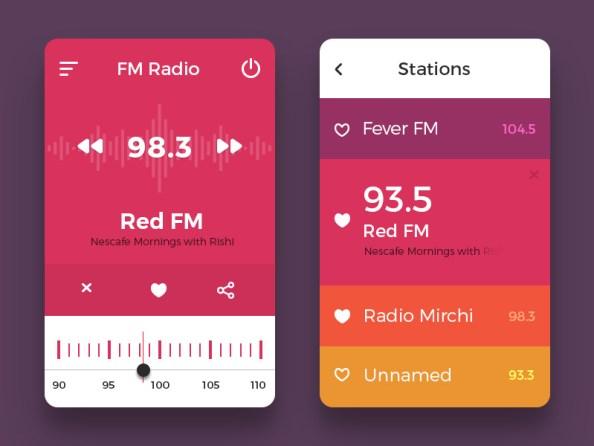 radio-ui-concept