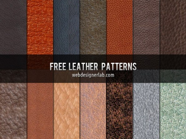 free psd leather patterns
