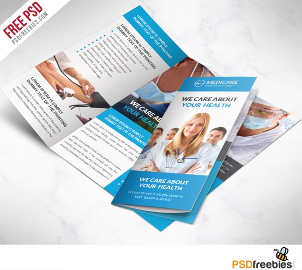 Medical-care-and-Hospital-Trifold-Brochure-Template-Free-PSD