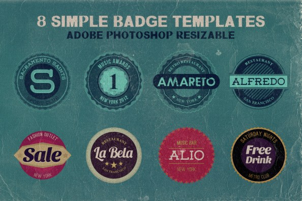 Badge Templates