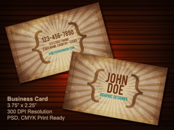 vintage-business-card-psd-front-back_55-292934327
